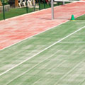 pistas cesped artificial