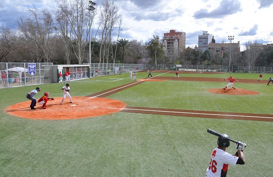 Tierra batida celabasa campo béisbol valencia