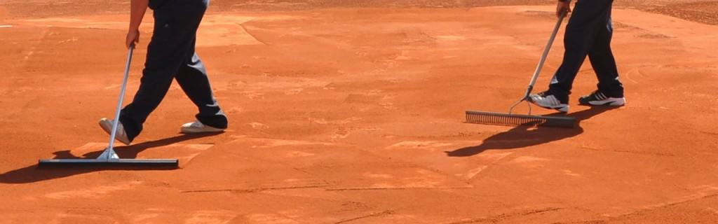 accesorios pistas tenis tierra batida