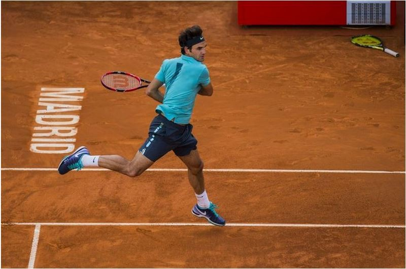 Federer OPen Madrid 2015