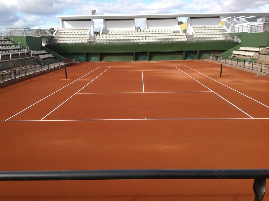 Pista tenis Fed Cup Sevilla
