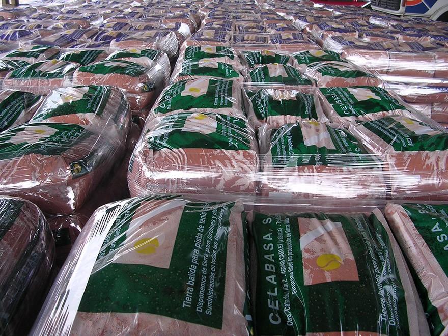 fabricante tierra batida paletizada celabasa