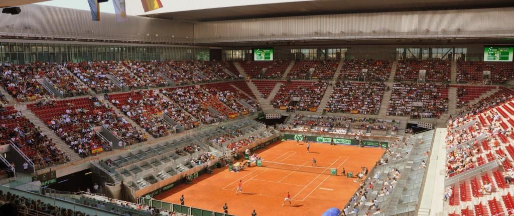 Copa Davis 2013, España – Ucrania, La Caja Mágica, Madrid