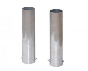 anclajes postes aluminio
