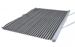 estera de malla pvc aluminio