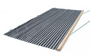 estera malla pvc reforzada madera