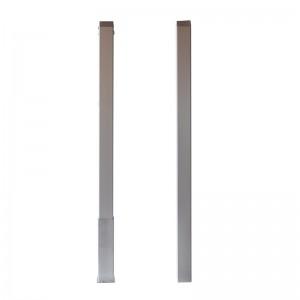 postes competición aluminio cuadrados