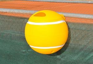 papelera pvc tenis