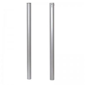 juego postes competición aluminio