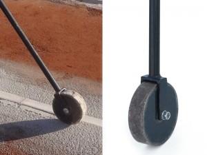 rodillo prensa manual reparación pista tenis