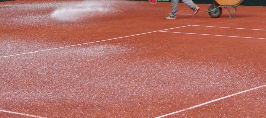anticongelante pistas de tenis de tierra batida