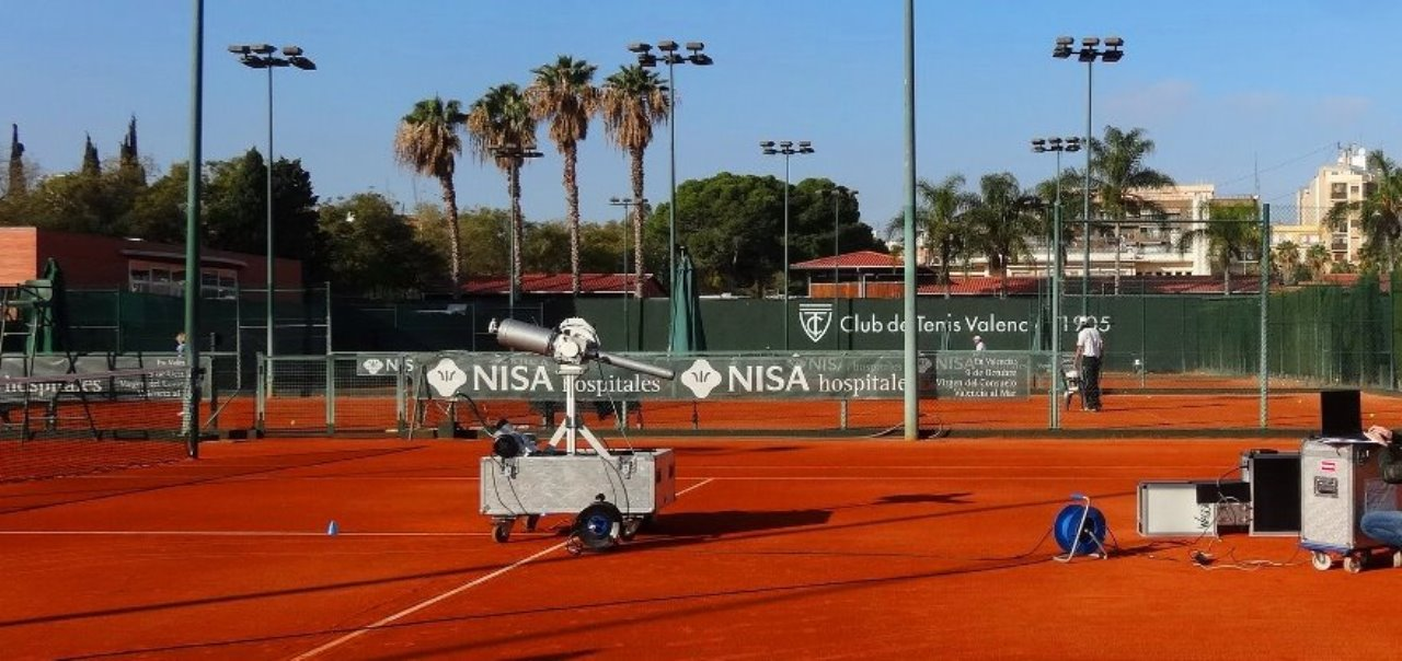 """Primera pista de tenis española  con el sello """"ITF Two Star"""""""