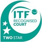 Sello ITF pistas tierra batida Celabasa