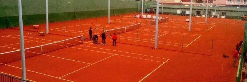construccion pistas de tenis de tierra batida Celabaa