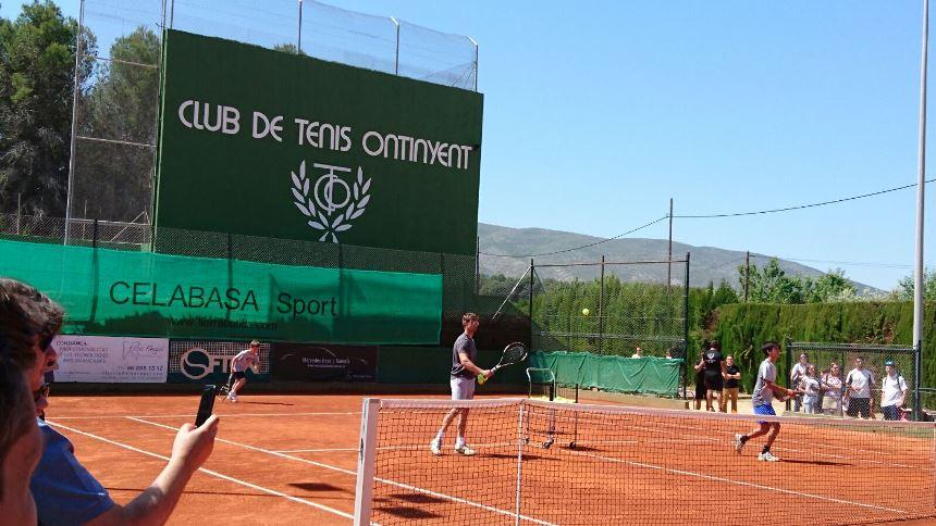Construccion pista tenis tierra batida Celabasa