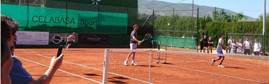 Inauguración pista de tenis en Ontinyent